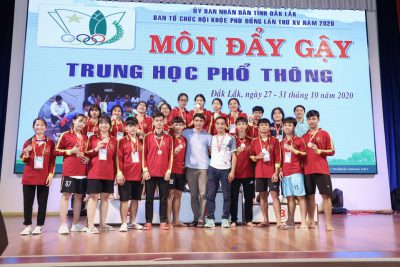 Kỷ lục 3 lần nhất toàn đoàn – Hội khỏe Phù Đổng cấp tỉnh Đắk Lắk lần thứ XV năm 2020