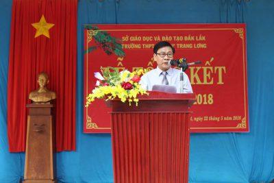 Trường THPT DTNT Nơ Trang Lơng tổ chức tổng kết năm học 2017 – 2018
