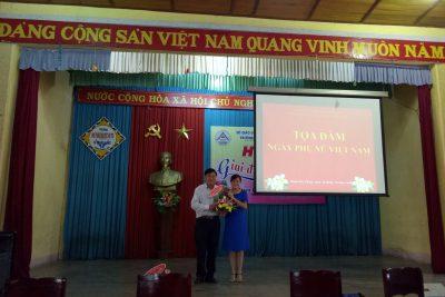 Hoạt động chào mừng ngày Phụ nữ Việt Nam (20/10/2018)
