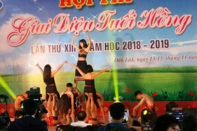 Trường THPT DTNT Nơ Trang Lơng tham gia Giai điệu Tuổi hồng cấp tỉnh lần thứ XIII