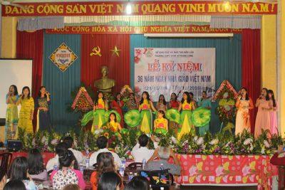 Trường THPT DTNT Nơ Trang Lơng tổ chức Lễ kỷ niệm 36 năm ngày nhà giáo Việt Nam (20/11/1982-20/11/2018)
