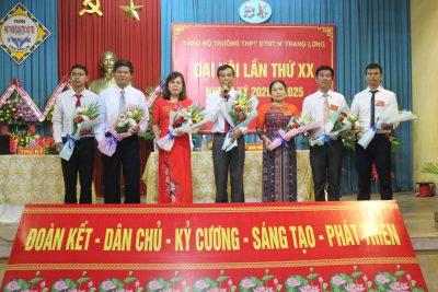 Đại hội Đảng bộ Trường THPT Dân tộc Nội trú N'Trang Lơng lần thứ XX nhiệm kỳ 2020 – 2025
