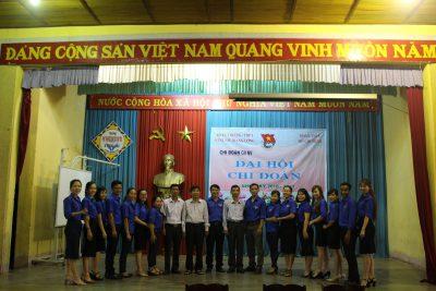 Đại hội Chi đoàn Giáo viên – Nhân viên Trường THPT DTNT Nơ Trang Lơng Nhiệm kỳ 2017-2018