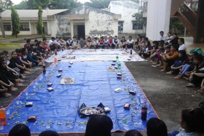 Trường THPT DTNT Nơ Trang Lơng sôi nổi chuẩn bị chào năm học mới