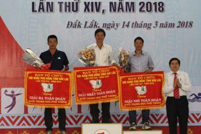 Trường THPT DTNT Nơ Trang Lơng tự hào mùa thứ 3 liên tiếp đạt Nhất toàn đoàn Hội khỏe Phù Đổng năm 2018